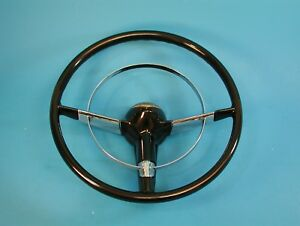 New 15 Size 1955 1956 Chevrolet Antique Car Steering Wheel Fast Ship