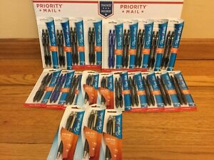 Paper Mate Profile And Inkjoy Ball Point Pens Lot Of 22