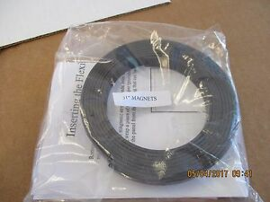 New 2 Per Pkg 51 Rubber Flexible Magnetic Craft Magnet Strip non Adhesive