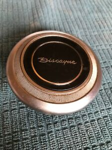 Rare Original Used 1967 1968 Chevrolet Biscayne Horn Button Cap Free Shipping