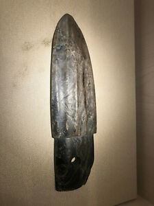 Chinese Stone Age Old Jade Carved Knife