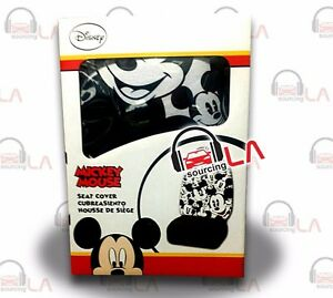Plasticolor 006918r01 Mickey Mouse Expressions High Back Seat Cover Set Of 2