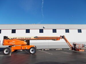 2014 Factory Reconditioned Jlg 1200sjp 4x4 120ft Telescopic Boom Lift Man Lift