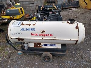 Heat Wagon Hvf 300 Jobsite Heater Salamander Furnace Job Site Oil Fired
