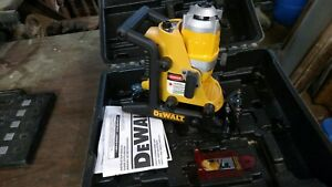 New Dewalt Dw073 Cordless Rotary Laser 18 Volt Level W Case