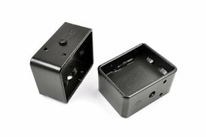 Rough Country 4 Lift Blocks Rear Universal Fit Fabricated Steel 6593