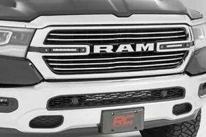 Rough Country Dual 6 Led Grille Kit Fits 2019 Dodge Ram 1500