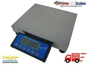 Ps 60 14 X 12 Bench Shipping Scale 150 X 0 05 Lb Fedex Worldship Compatible
