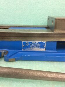 Kurt Anglock 6 Milling Machine Vise W Handle d675