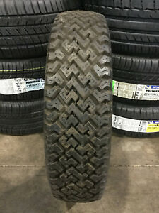 1 New 175 75 14 Bfgoodrich Trail Maker White Wall Snow Tire