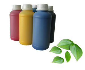 6 Eco Solvent Ink Refill Compatible For Epson Roland Mutoh Mimaki 1000 Ml Each
