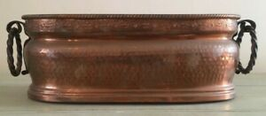 Vintage Copper Planter Copper Metalware Planters Antique