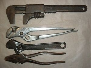 Cresent Tools Co Pliers Adjustable Wrenches Ny Made In Usa