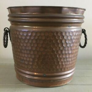 Vintage Large Copper Planter Copper Metalware Planters Antique