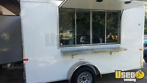 New 2019 7 X 12 Food Concession Trailer Mobile Kitchen For Sale In Florida