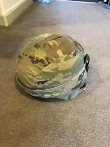 Army ach helmet and multicam cover xl