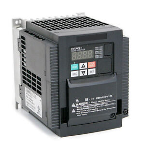 Hitachi Wj200 022lf variable Frequency Drive 3 Hp 230 Vac Three Phase Input
