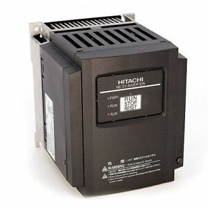 Hitachi Nes1 022lb 3 Hp 230 Vac 3 Phase Input Vfd With Operator