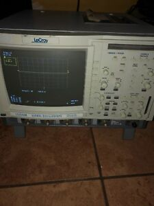 Lecroy 4 Channel 500mhz Color Oscilloscope Lc334am