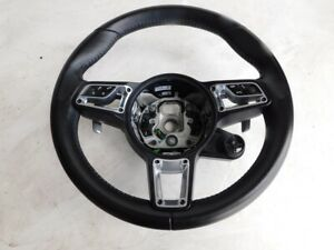 Porsche Carrera S 911 991 2 2017 Black Leather Tiptronic Steering Wheel J104