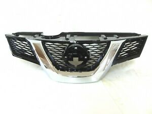 For Nissan Rogue S Sl Sv Grille Grill With Camera Option Front 2014 2015 2016