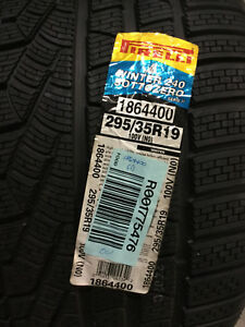 1 New 295 35 19 Pirelli Winter 240 Sotto Zero Serie Ii Snow Tire