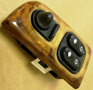 97 02 Jaguar Xk8 Left Master Window And Mirror Switch With Maple Wood Trim
