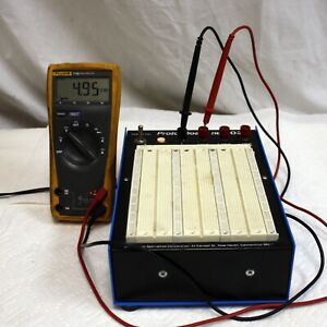 Continental Proto board 203a Solderless Breadboard Power Supply Voltages Tested