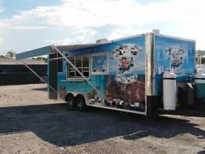 2017 24 Bbq Kitchen Concession Trailer Ready To Go Barbecue Pit For Sale In