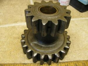 John Deere D Transmission Double Gear W bushings D2847r Tractor