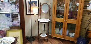 Great Condition Vintage Wash Stand And Mirror Pls Read Complete Description