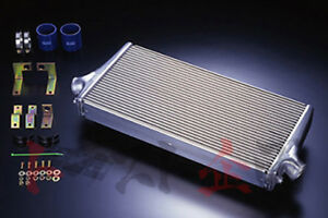 Hks Intercooler R Type 600x255 6x103mm Lancer Evolution 9 Ct9a 4g63 13001 am005