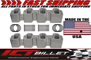 Gen 5 L83 L86 Lt1 Cylinder Head To Lt4 Tall Supercharger Adapter Plates Intake