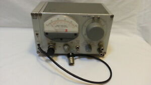 Tuned Amplifier And Null Detector Type 1232 a 1232 p2 Pre amp As Is