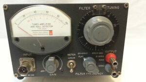 Tuned Amplifier And Null Detector Type 1232 a Serial 241 As Is