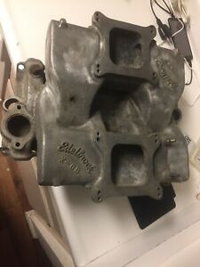 Edelbrock X C8 Cross Ram Intake Small Block Chevy