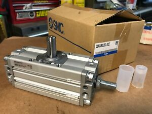 New Smc Pneumatic Rotary Actuator Cdra1bsu50 100z Fast Shipping