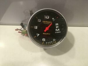 Autometer Ultimate Playback 5 Tachometer Tach 11 000 Rpm