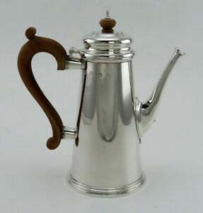 Vintage 1974 Martha Stewart English Sterling Silver Lighthouse Teapot