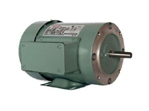 New 3 Hp 3 Phase Tefc 56c Frame 3450 Rpm 230 460v Electric Motor