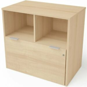 Bestar I3 Plus 1 Drawer Lateral File Cabinet In Northern Maple