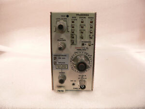 Tektronix 7b70 Time Base