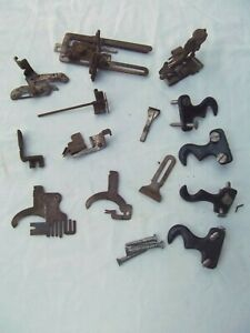 Antique 1920 Singer Treadle Sewing Machine 127 3 Sphinx Rusty Lot Part Cast Iron