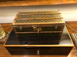 Louis Vuitton Flower Trunk With Key