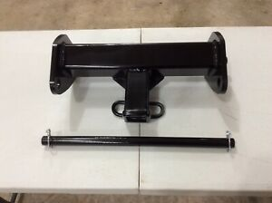 Front Mount Trailer Hitch Receiver Fits Boss Plow Frame