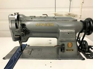 Singer 211g466 Walking Foot Big Bobbin Reverse 110v Industrial Sewing Machine
