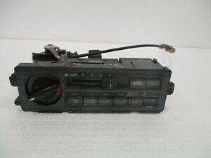 1988 1991 Honda Crx Climate Control Panel Assembly Repaired