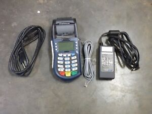 Equinox Model T4220 Credit Card Machine Terminal Reader Cords