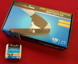 Swingline High capacity Heavy duty Stapler Black gray 90002 Plus Staples New