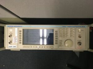 Marconi Instruments 2041 10 Khz To 2 7 Ghz Signal Generator